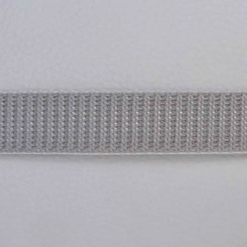 Gurtband 22 mm grau Meterware